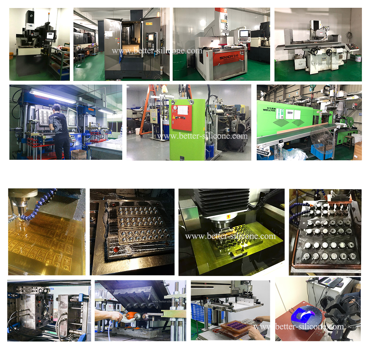 Liquid Silicone Injection Factory and Manufacture