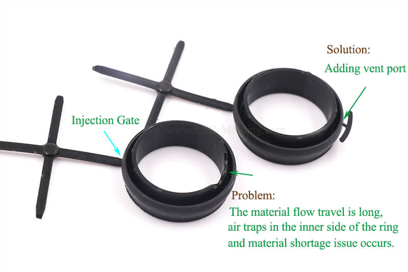 Vent Port Added for Liquid Injection Molded Gasket