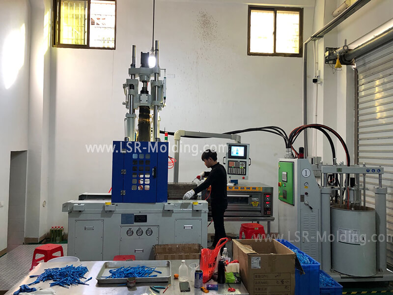Vertical Liquid Silicone Rubber Injection Molding