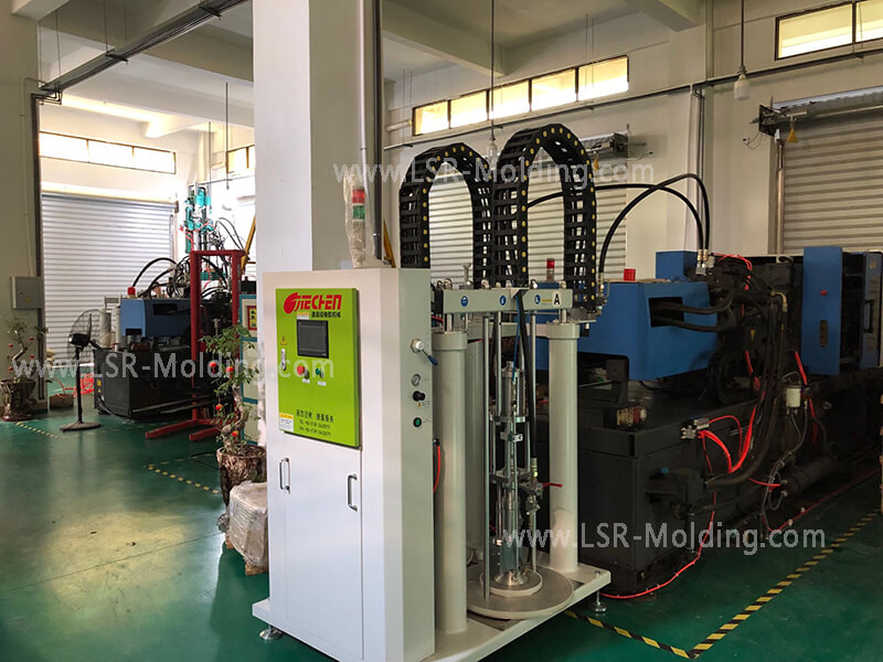 Horizontal Liquid Silicone Rubber Injection Molding